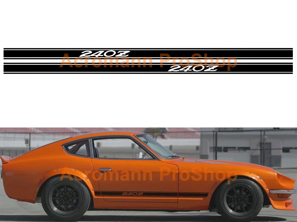 Datsun 240Z Side Stripe Door Decal (Style#1) x 1 pair